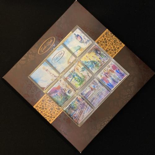 Étcsokoládé mozaik: Pécs, mediterrán város