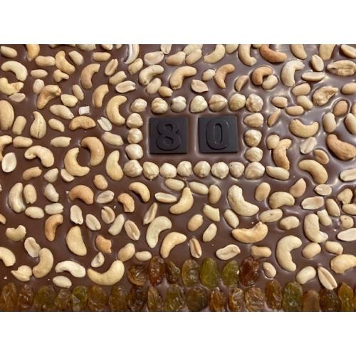 Óriás csokoládé tábla egyedi